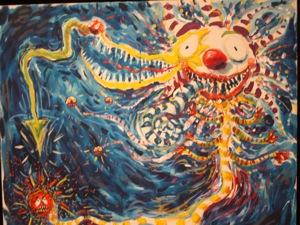Obras de Arte 091117_BURTONBLUECLOWN2nd